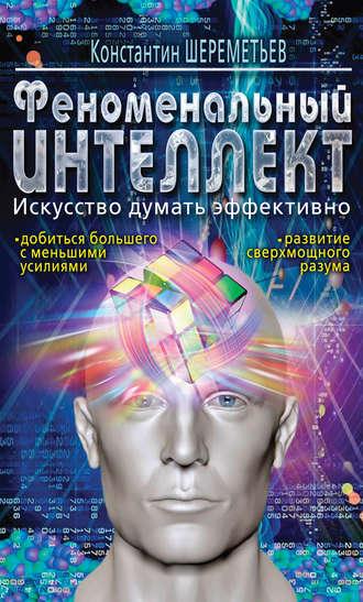 Константин Шереметьев, Феноменальный интеллект. Искусство думать эффективно