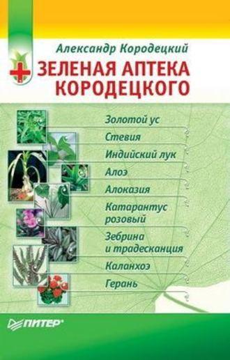 Александр Кородецкий, Зеленая аптека Кородецкого: золотой ус, индийский лук, стевия и другие