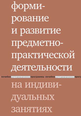 Людмила Шаргородская, Формирование и развитие предметно-практической деятельности на индивидуальных занятиях