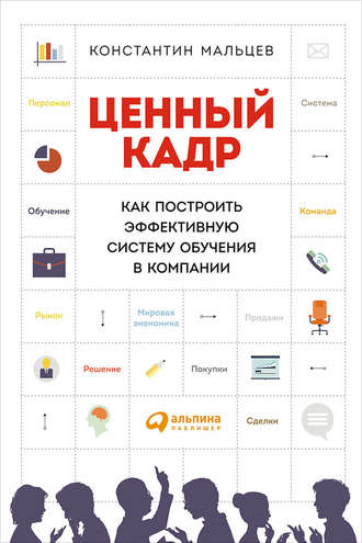 Константин Мальцев, Ценный кадр: Как построить эффективную систему обучения в компании