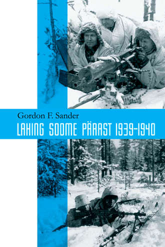 Gordon Sander, Lahing Soome pärast 1939-1940