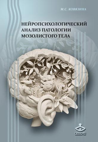 Мария Ковязина, Нейропсихологический анализ патологии мозолистого тела