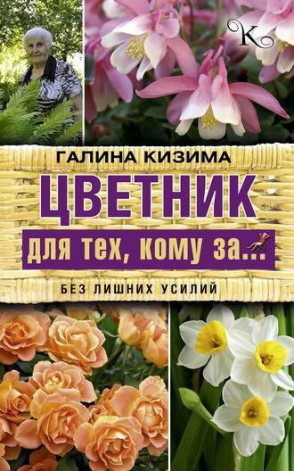 Галина Кизима, Цветник для тех, кому за… без лишних усилий