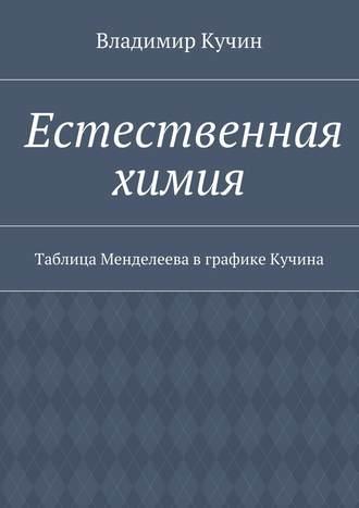 Владимир Кучин, Естественная химия. Таблица Менделеева вграфике Кучина