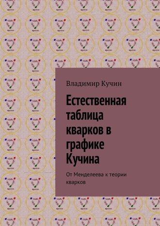 Владимир Кучин, Естественная таблица кварков в графике Кучина. ОтМенделеева ктеории кварков