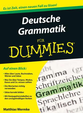 Wermke Matthias, Deutsche Grammatik für Dummies