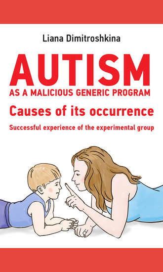 Лиана Димитрошкина, Autism as a malicious generic program. Causes of its occurrence. Successful experience of the experimental group
