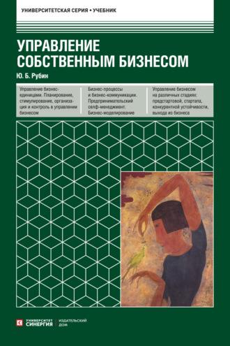 Юрий Рубин, Управление собственным бизнесом