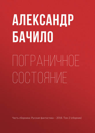 Александр Бачило, Пограничное состояние