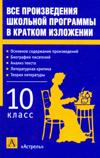 Игорь Родин, Все произведения школьной программы в кратком изложении. 10 класс