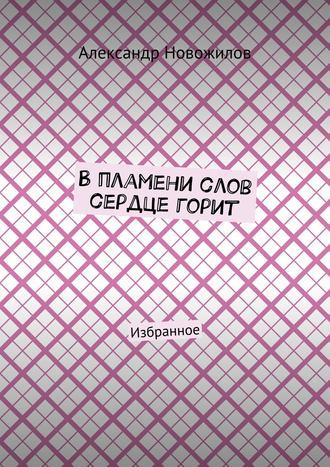 Александр Новожилов, В пламени слов сердце горит