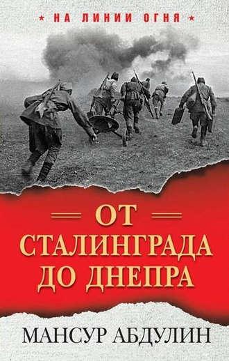 Мансур Абдулин, От Сталинграда до Днепра