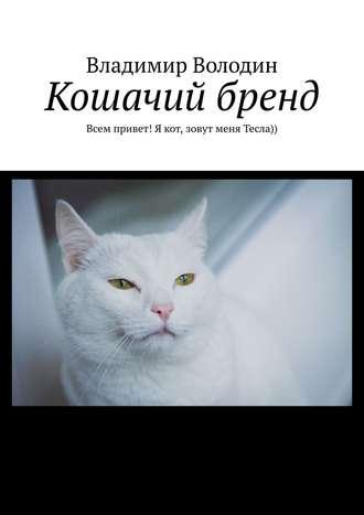 Владимир Володин, Кошачий бренд. Всем привет! Я кот, зовут меня Тесла))