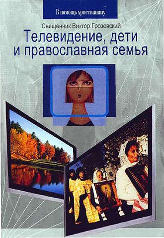 Священник Виктор Грозовский, Телевидение, дети и православная семья