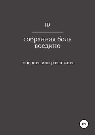 Дмитрий ID, Собранная боль воедино