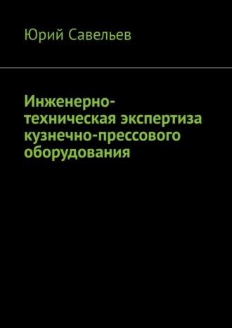 Юрий Савельев, Инженерно-техническая экспертиза кузнечно-прессового оборудования