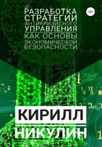 Кирилл Никулин, Разработка стратегии антикризисного управления как основы экономической безопасности предприятия