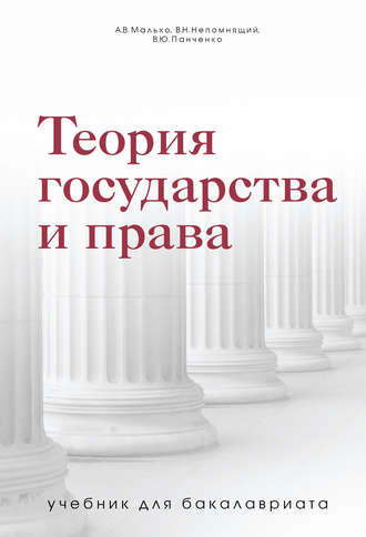 Владислав Панченко, Виктор Непомнящий, Теория государства и права. Учебник для бакалавриата