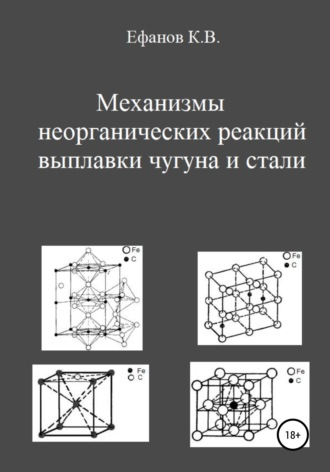 Константин Ефанов, Механизмы неорганических реакций выплавки чугуна и стали