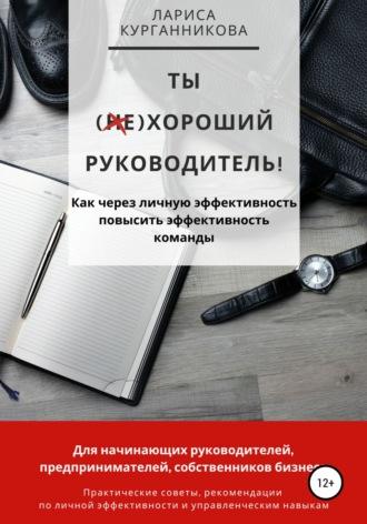 Лариса Салынова, Ты (НЕ)хороший руководитель