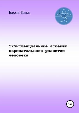 Илья Басов, Экзистенциальные аспекты перинатального развития человека