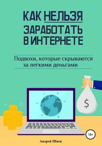 Андрей Швец, Как нельзя заработать в Интернете