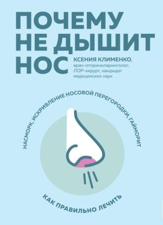 Ксения Клименко, Почему не дышит нос. Насморк, искривление носовой перегородки, гайморит – как правильно лечить