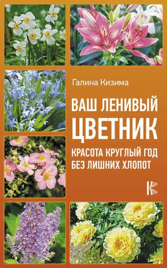 Галина Кизима, Цветник для ленивых. Цветы от последнего снега до первых морозов